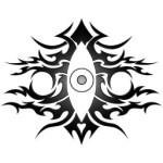 eye_tribal_v2_by_kuroakai-d45k0id