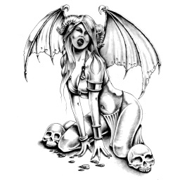 mitch_foust_tribute_succubus_by_markfellows-d3c7ndg