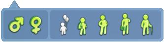 GENDER:Male/Female, AGE:Teen/YoungAdult/Adult/elder